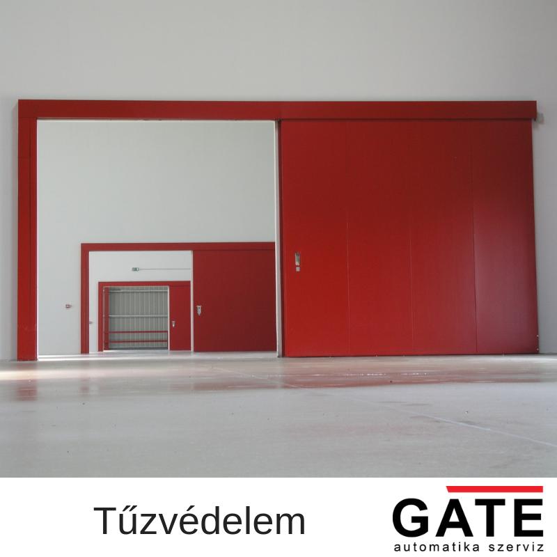 Tűzvédelmi nyílászárók - GATE Automatika