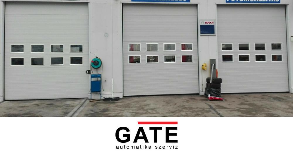 Ipari szekcionált kapu - Eurodoor