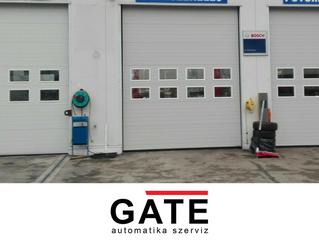 Ipari szekcionált kapu - Eurodoor telepítése