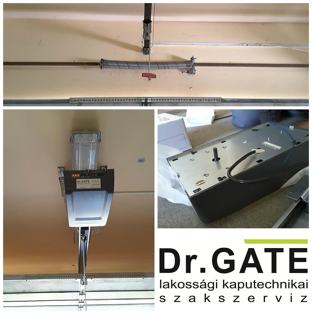 DrGATE - Ditec Top motor telepítés