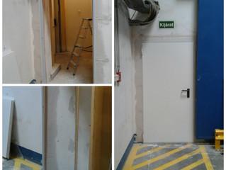 Tűzgátló ajtó telepítés
