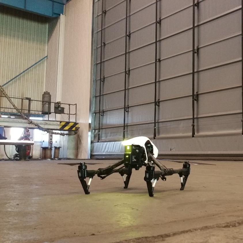 Drónos munkafelmérés