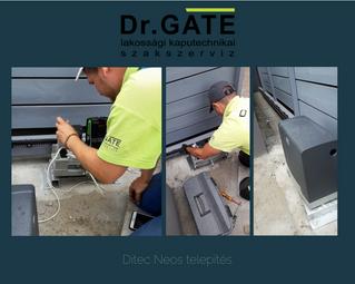 Ditec Neos motor telepítése