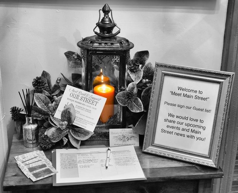 Historic Hull House Inn Mainstreet Meet and Greet