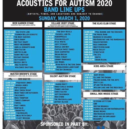 Tinfoil Live at Acoustics for Autism