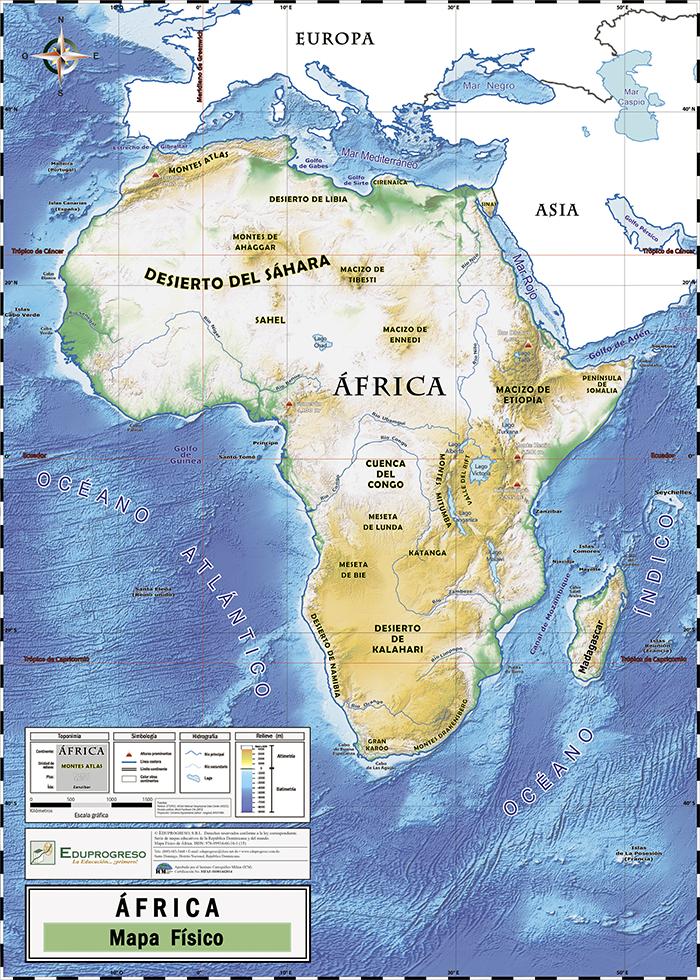 Mapafisicoafrica12