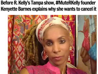 Before R. Kelly's Tampa show, #MuteRKelly founder Kenyette Barnes explains why she wants to cancel it