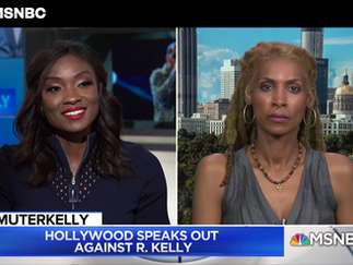 MSNBC: Hollywood Speaks Out Against R. Kelly