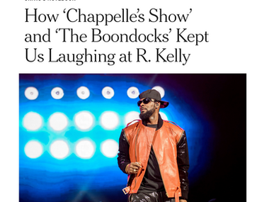 How 'Chappelle's Show' and 'The Boondocks' Kept Us Laughing at R. Kelly