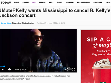 #MuteRKelly wants Mississippi to cancel R. Kelly's Jackson concert