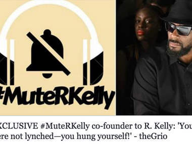 #MuteRKelly co-founder to R. Kelly: 'You were not lynched—you hung yourself!'