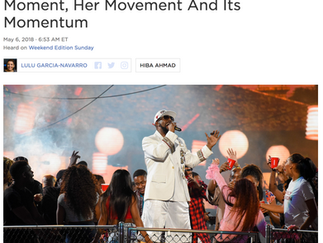 NPR: #MuteRKelly Co-Founder On The Moment, Her Movement And Its Momentum
