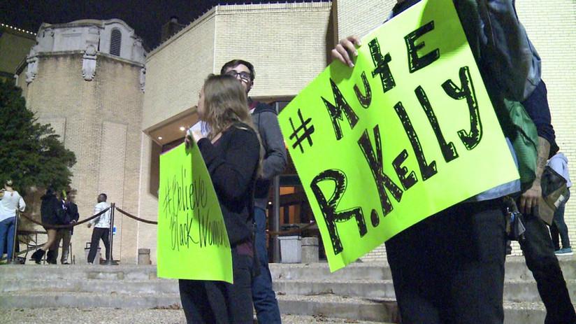 #MuteRKelly Protest