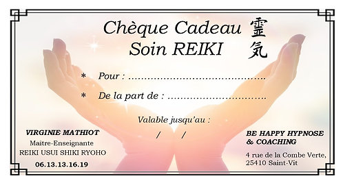 Chèque cadeau Soin REIKI