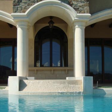 Custom made Travertine Fountain