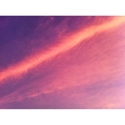 Feathers in the sky 🌂 #feather #sky #pink #clouds