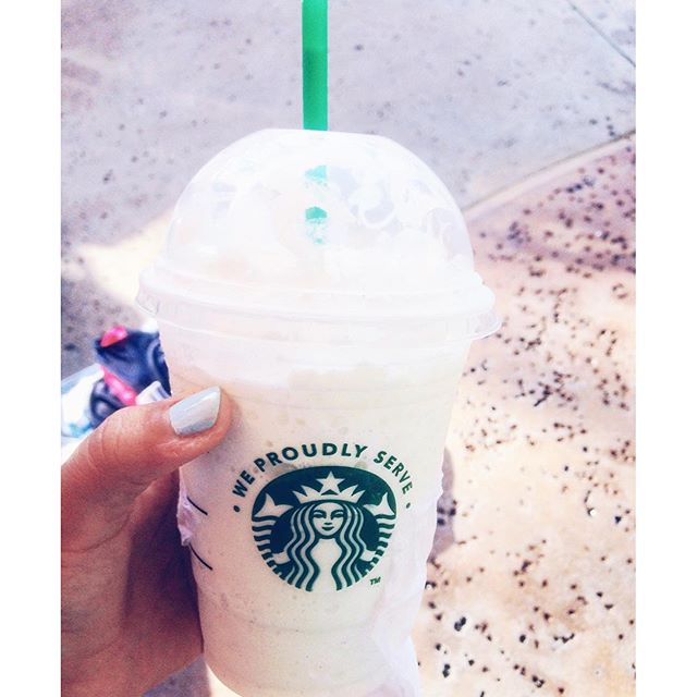 Goodbye summertime ⛅️ #Starbucks #summer