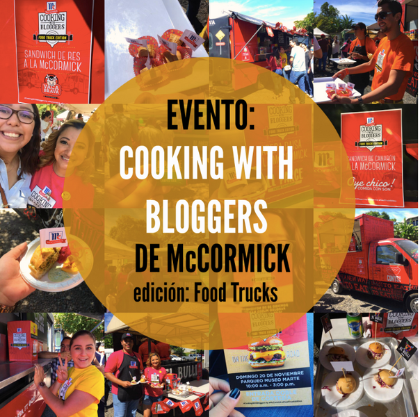 Evento Cooking with Bloggers 🍴