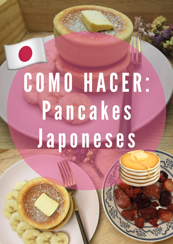 Como hacer Pancakes Japoneses 🥞