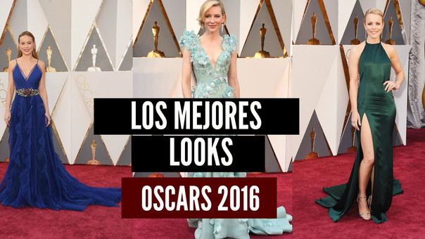 Los mejores Looks de la Alfombra roja premios Oscar 2016