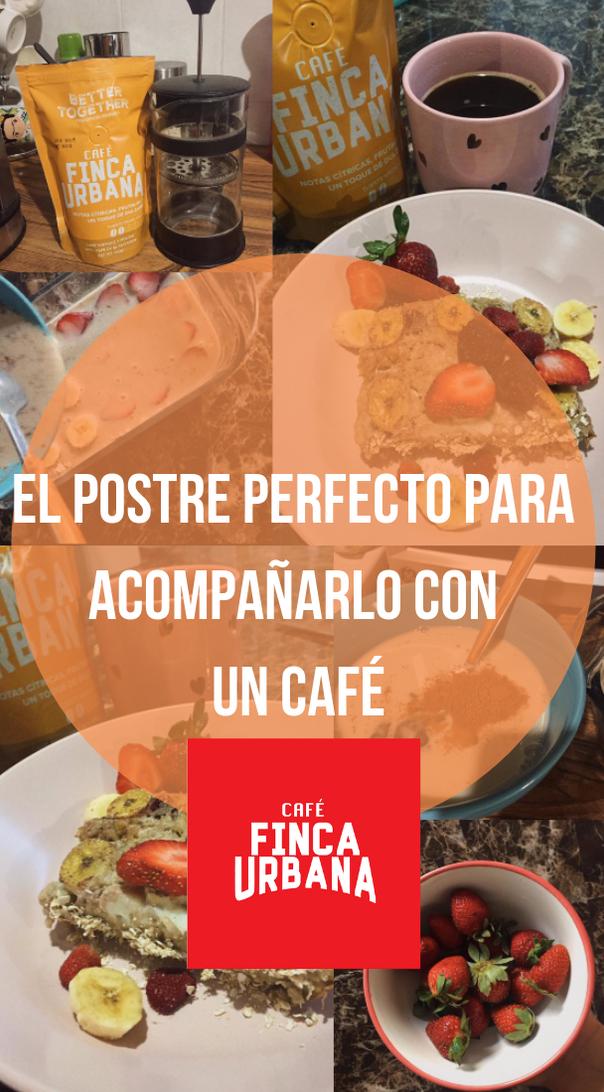 Un postre perfecto para una tarde de café ☕️ 🧡 de Finca urbana