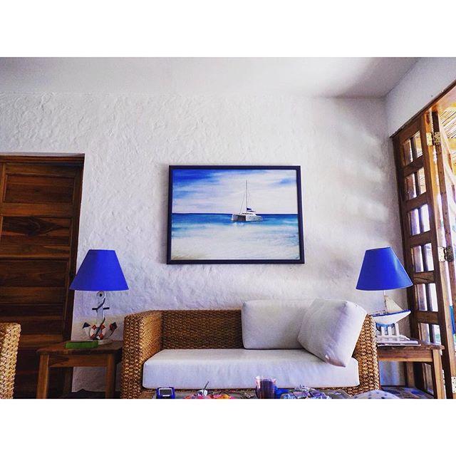 Casita de playa💙☀️⛵️ #beach #beachhouse #blogger #fashionblogger #collegeblogger #modaelsalvador #m