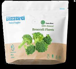 blizzard veggies iqf broccoli