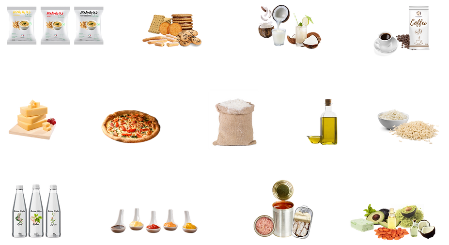 foodservice, ingredients, additives, hummus, biscuits, cocnut, drinks, coffe, syrup, cheese, pizza, flour, flours, oil, oils, rice, aroma, water, aroma water, sauces, ketchup, mustard, bbq sauce, canned food, canned, food, can, pharma, cosmetics, pharma & cosmetics