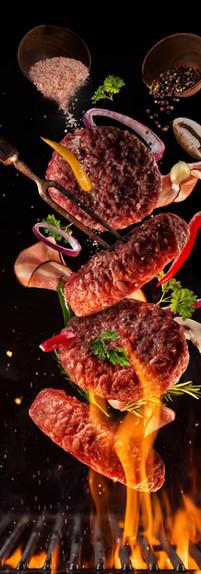 meat chicken beef pork