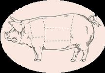 pork meat cuts la comarca
