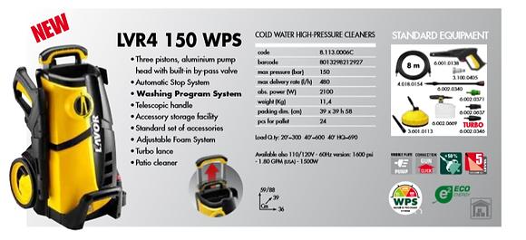 LAVOR - LVR4 150WPS
