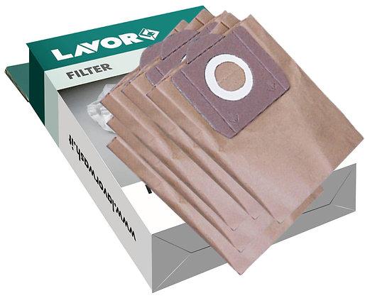 LAVOR - Accessori aspirapolveri - Set 5 filtri raccoglitori in carta