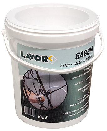 LAVOR - Accessori idropulitrici ad acqua calda - Sabbia Calibrata