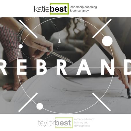 TaylorBest Rebrand | Introducing KatieBest Associates