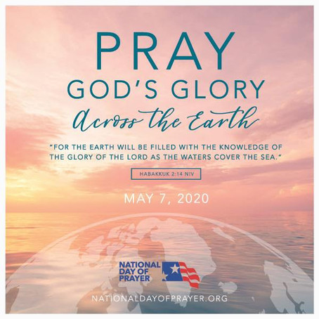 National Day of Prayer May 7, 2020