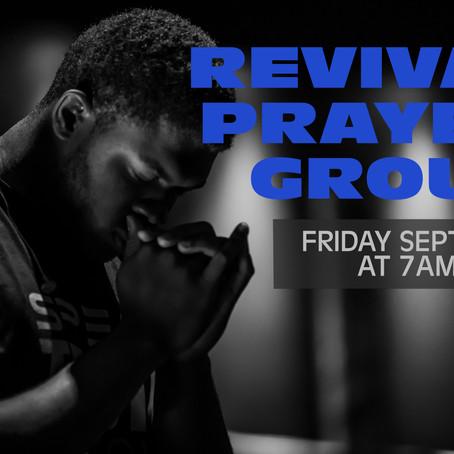 Friday 9-11-2020 Revival Prayer Guide