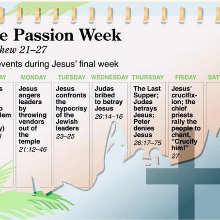 2021 - Holy Week Devotional