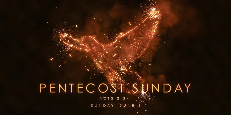 Special Pentecost Sunday Service