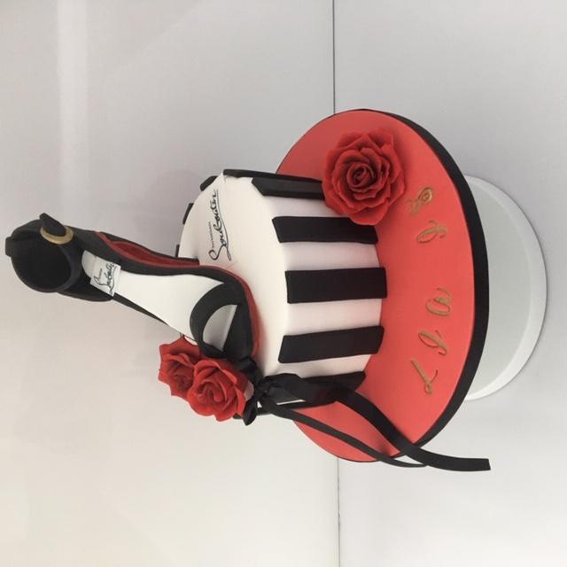 Laboutin Shoe Cake
