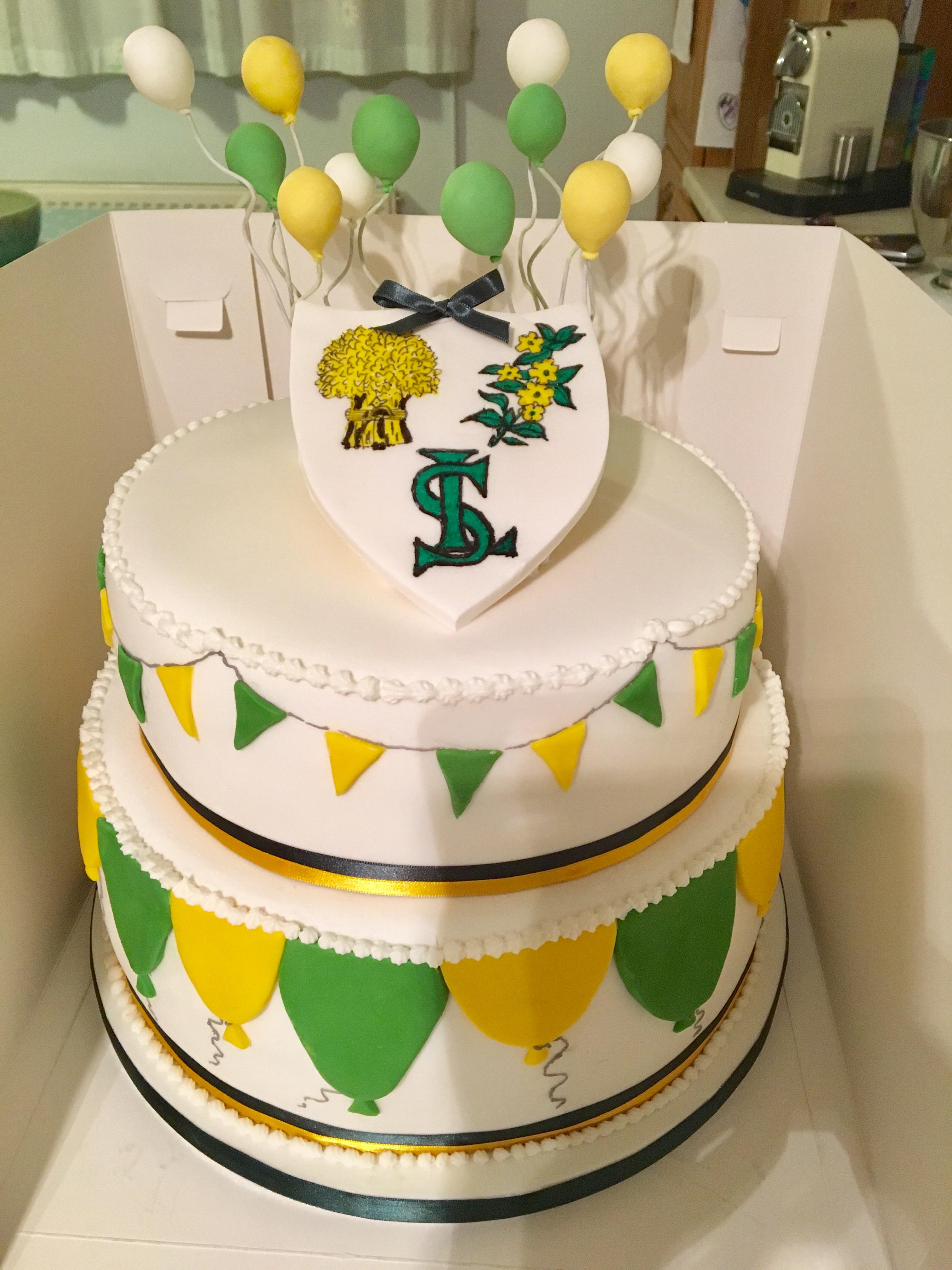 Loxwood School birthday cake