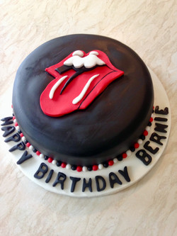 Album cover birthday cake