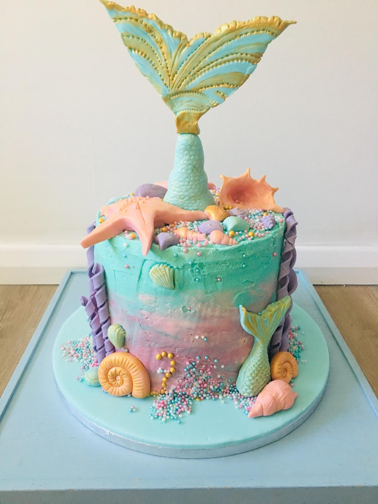 Mermaid Fantasy Cake