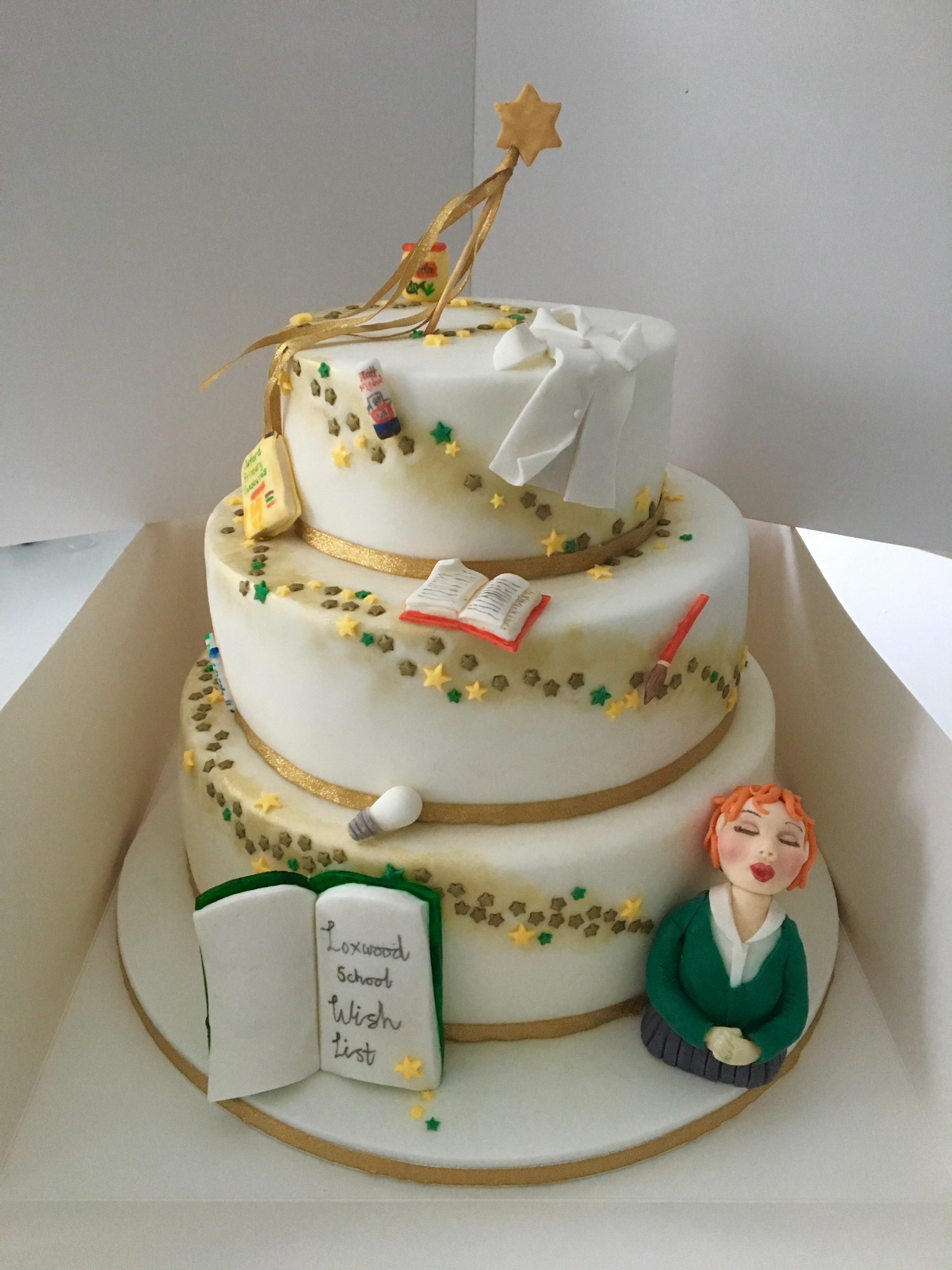 Wishlist Cake for Loxwood School