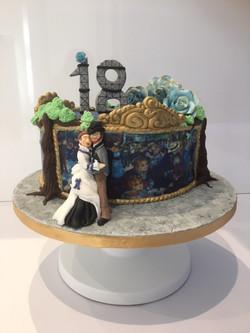 Renoir Interpretative cake
