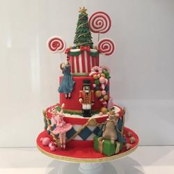 Nutcracker christmas cake