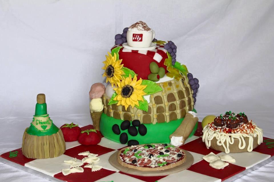 Dolce Vita Italy cake