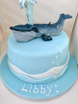 Blue Whale cake
