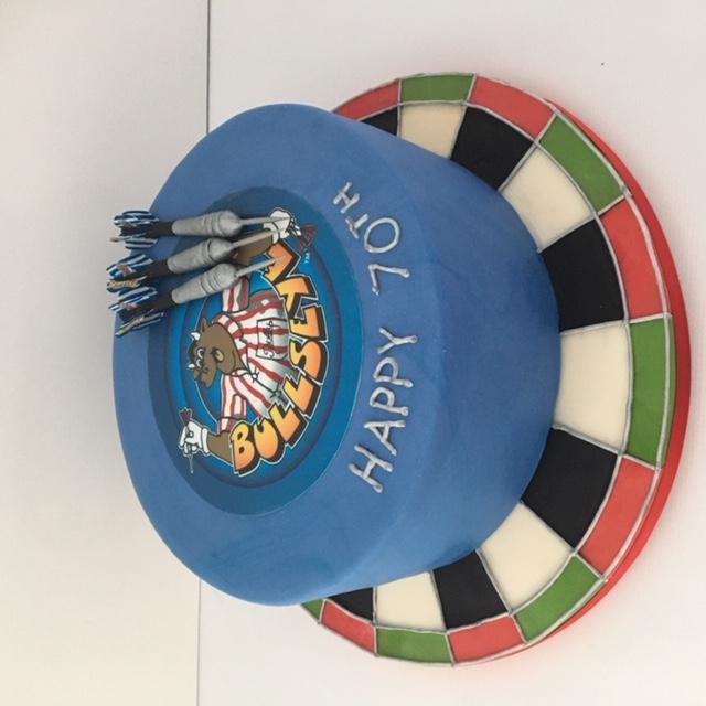 Bullseye cake