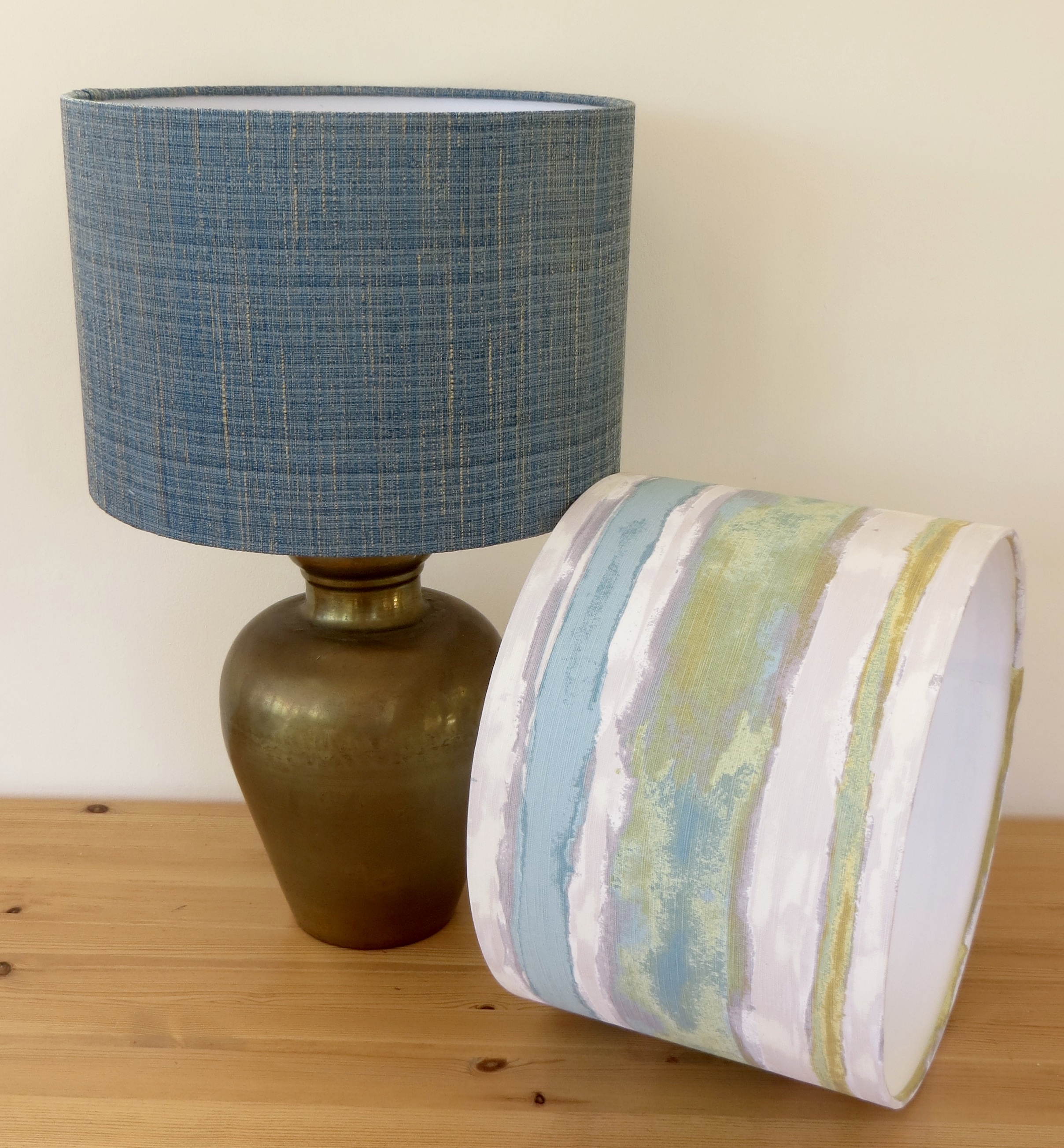 Co-ordinating table lampshades