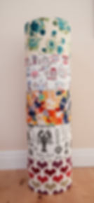 Bespoke drum lampshades Jo Jones Creative Epsom